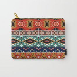 Navajo Arrow Pattern Carry-All Pouch