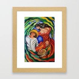 Rumba Guajira. Miguez Art Framed Art Print