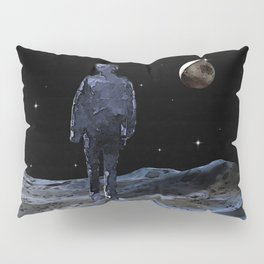 Walking on the Moon - Dark Art Pillow Sham