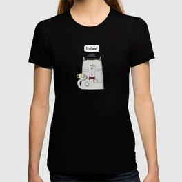 English cat T-shirt
