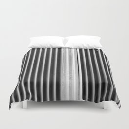 Colored iron corrugated sheets at The Commons BKK Duvet Cover