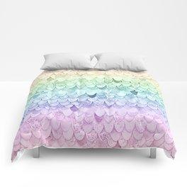 RAINBOW MERMAIDSCALES - MAGIC MERMAID Comforters