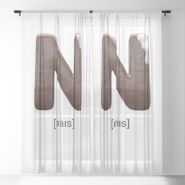 N-Ice & Sweet Sheer Curtain
