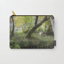 Maisie at the Pond Carry-All Pouch