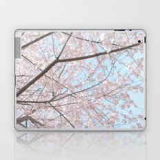 Vintage pink tree Laptop & iPad Skin
