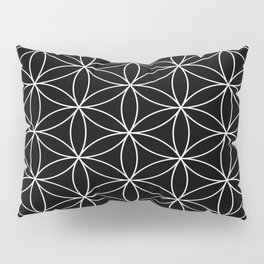 Flower of Life : Sacred Geometry Pillow Sham