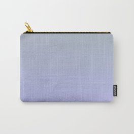NEAR PAST - Minimal Plain Soft Mood Color Blend Prints Carry-All Pouch