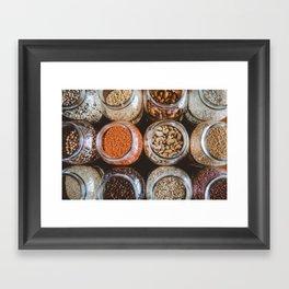 Zero Waste Vegan Framed Art Print