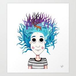 Imaginando un Bosque I Art Print