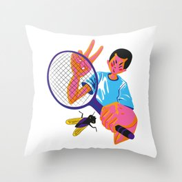 Cool Boy Kentaro Throw Pillow