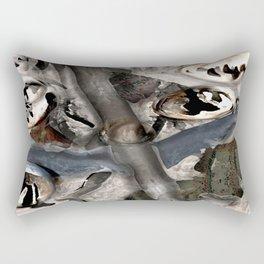 Winter Discomfort Rectangular Pillow