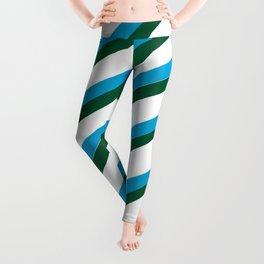 TEAM COLORS 1...LIGHT BLUE,GREEN Leggings