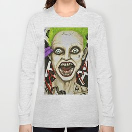 The Joker Suicide Squad Long Sleeve T-shirt