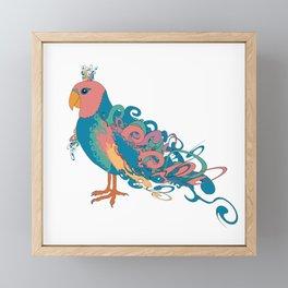Summertime Parrots Framed Mini Art Print