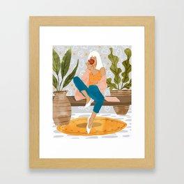 Boss Lady #illustration #painting Framed Art Print