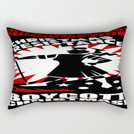 Christmas Resistance  Rectangular Pillow