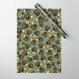 Fluffy Marten ( Martes martes ) Wrapping Paper