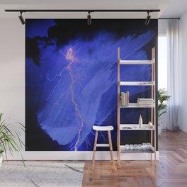 abstract thunder 2 Wall Mural
