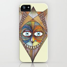 Parted and Feathered iPhone Case