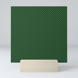 Green Scottish Fabric High Resolution Mini Art Print