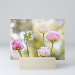 Rose Bokeh Mini Art Print
