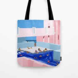 Spain Pool Tote Bag