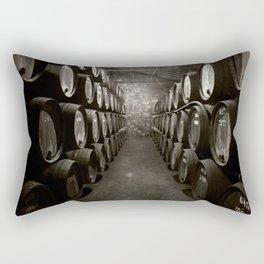 Barrels of Porto Rectangular Pillow
