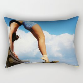 Dance is the hidden language of the soul Rectangular Pillow