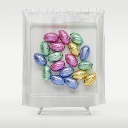 Easter Plate III Shower Curtain