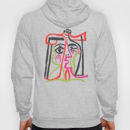 Picasso - Neon Colors Hoody