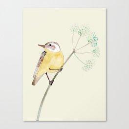Yellow bird 2 Canvas Print
