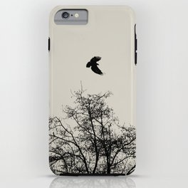 Exit Point  - Graphic Birds Series, Plain - Modern Home Decor iPhone Case