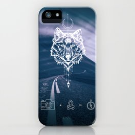 Never give up! iPhone Case