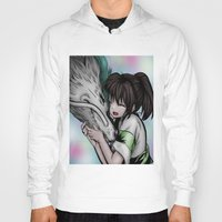 anime Hoodies featuring ilustración anime by paus_12