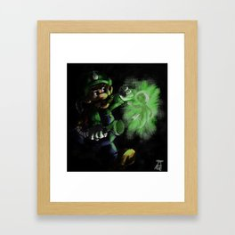 I Should Probably Give That A Quick Vacuuming... Framed Art Print