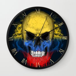 To The Core Collection: Colombia Wall Clock