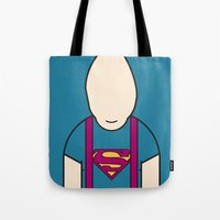 sloth Tote Bags featuring SLOTH by Ale Giorgini