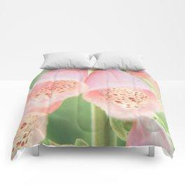 Pastel Foxgloves Comforters