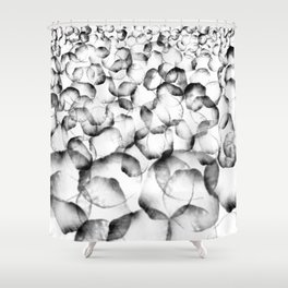 Ice cube 1 Shower Curtain