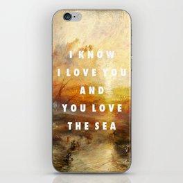 Ship of Unbelievers iPhone Skin