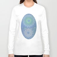 morocco Long Sleeve T-shirts featuring Morocco Blue Letter by ZenzPhotography