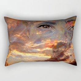 BERRIN SKY Rectangular Pillow