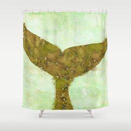 A Mermaid Tail II Shower Curtain