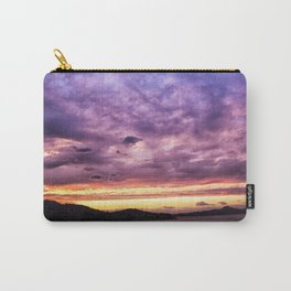 Mountain Lake Sunset Carry-All Pouch