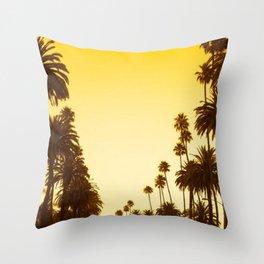 Palm Treess Throw Pillow