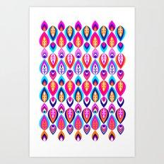 Pierrot II/Happy Memoir Pattern Art Print