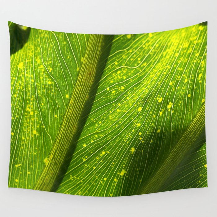 Spotted Leaf Wall Tapestry