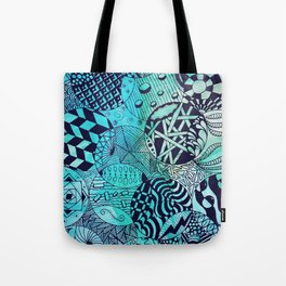 Zentangle Party Tote Bag