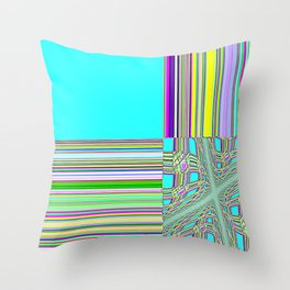 Re-Created Southern Cross XVI by Robert S. Lee Throw Pillow