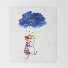 The Star Catcher Throw Blanket